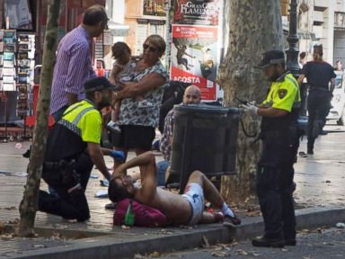 At least 13 dead, 100 injured in Barcelona attack, 5 'terrorists' killed in raid