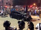 Baby killed, 15 injured after car crashes into pedestrians on Rio de Janeiro beach