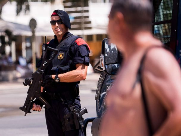 PHOTOS:  Barcelona terror attack in pictures