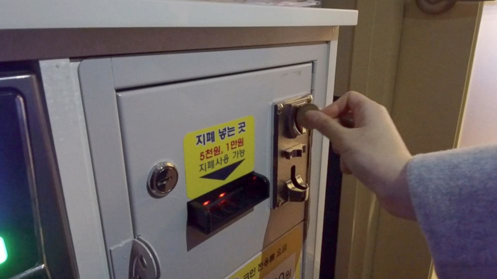 Coin-operated karaoke machines are taking over South  Korea