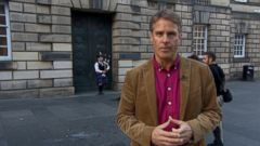 VIDEO: ABC News Terry Moran on the day of decision thats coming for the people of Scotland.