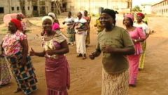 VIDEO: ABC News Hamish Macdonald visits with a group of singers outside of Abuja, Nigeria.
