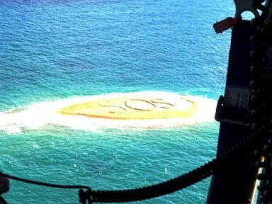 Giant 'SOS' Message Saves Marooned Snorkelers