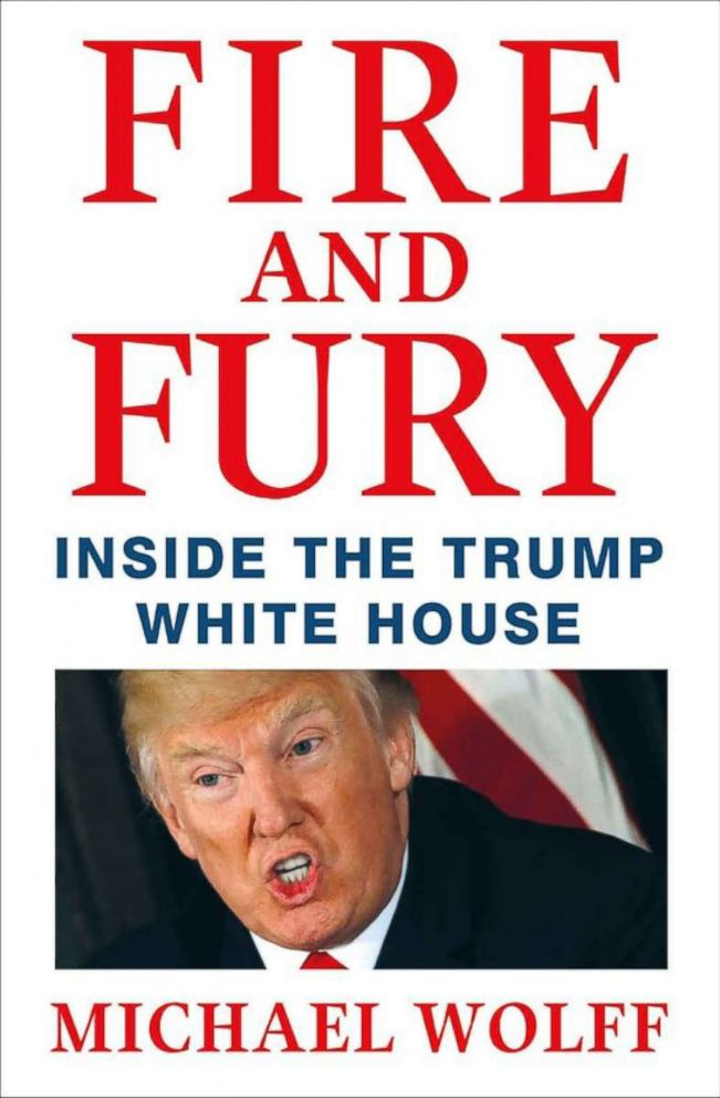 PHOTO: Fire and Fury by Michael Wolff.