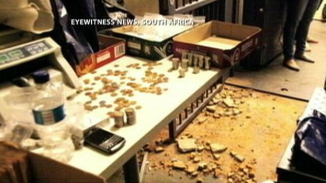 VIDEO: Thieves broke into a safe room at FNB Stadium in Soweto and made off with event earnings.