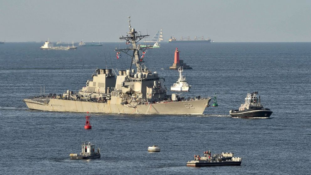What we know about Navy destroyer's deadly collision