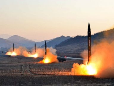 A look at every North Korean missile test this year