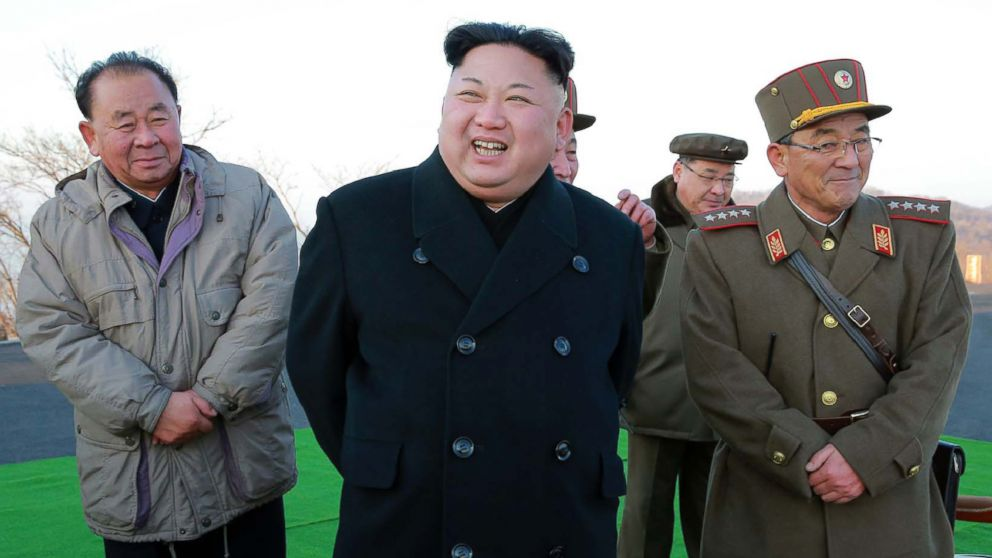 What US options are 'on the table' with North Korea?