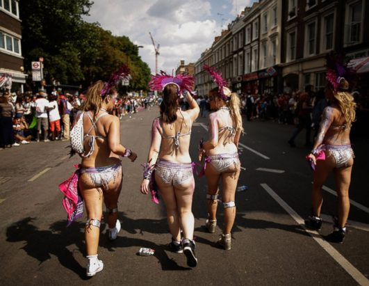 Titillating and Vibrant: Carnival in Knotting Hill
