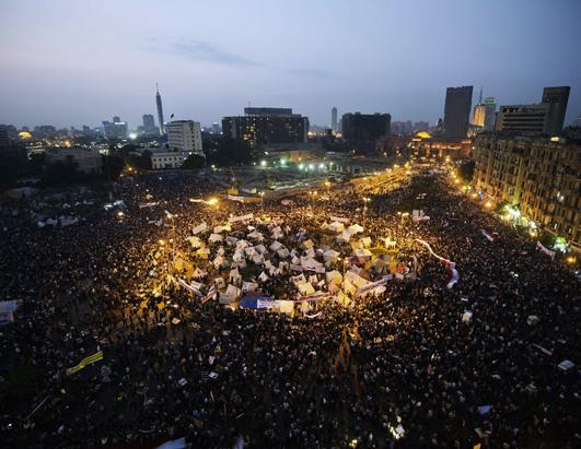 Thousands Demonstrate Against Egyptian President