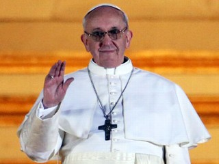 'Pray for Me': Pope Francis Greets Rome, World