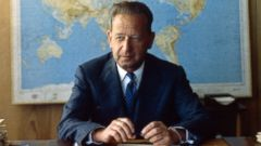 PHOTO: Dag Hammarskjold is seen in a 1957 file photo.