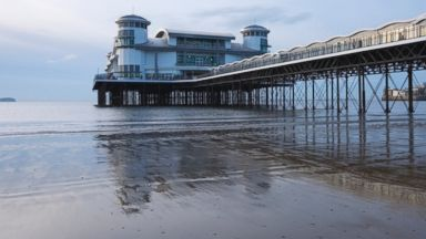 PHOTO: Weston-super-Mare in Somerset, UK is seen in this undated file photo.