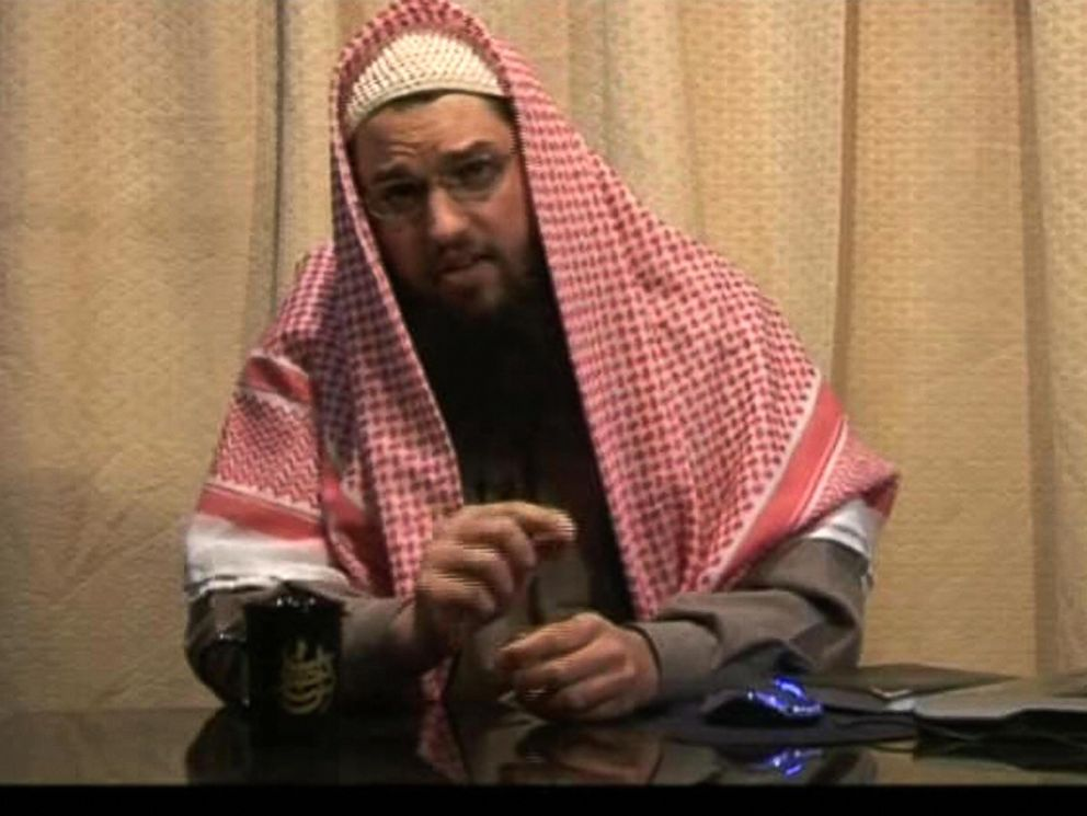 PHOTO: An image grab released by Al-Qaeda-linked media group as-Sahab on Jan. 6, 2008 shows Adam Gadahn, an American member of Al-Qaeda and a convert to Islam who has been indicted for treason by a US jury, at an unidentified time and place.
