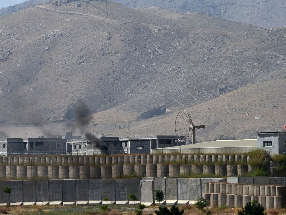 PHOTO: General view of a military academy base after an Afghan soldier opened fire on NATO troops inside the premises, on the outskirts of Kabul, Aug. 5, 2014.