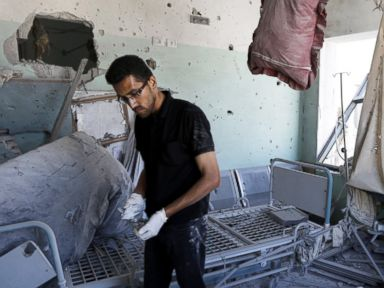 Gaza Hospitals Caught in Crossfire, Four Dead