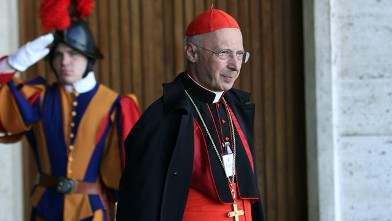 PHOTO: Cardinal Angelo Bagnasco attends the Synod of Bishops for The New Evangelization for the Transmission of the Christian Faith at the Synod hall, Oct. 19, 2012 in Vatican City.