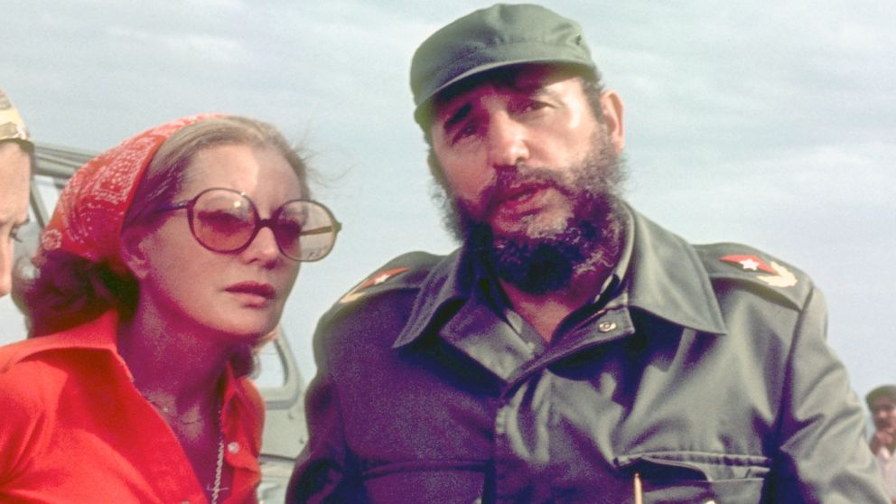 Image result for fidel castro barbara walters