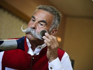 Photos: European Beard and Mustache Championships