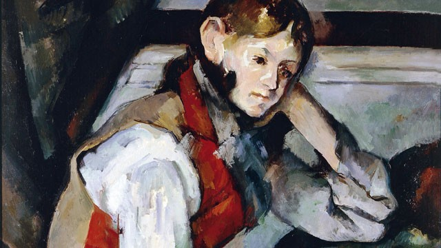 PHOTO: Paul Cezanne's The Boy in the Red Waistcoat is believed to have been recovered by Serbian police.