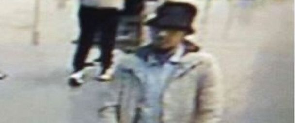 PHOTO: An image made from a security camera and released on March 22, 2016 by the Belgian federal police shows what the police say is a suspect in the attack at the Brussels Airport.