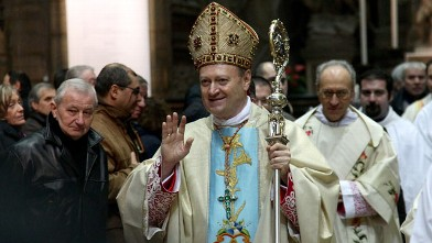 PHOTO: Cardinal Gianfranco Ravasi celebrates the Immaculate Conception, December 2010, in Milan, Italy.