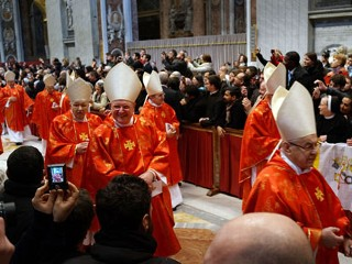 'Pray For Us': The Papal Conclave Begins