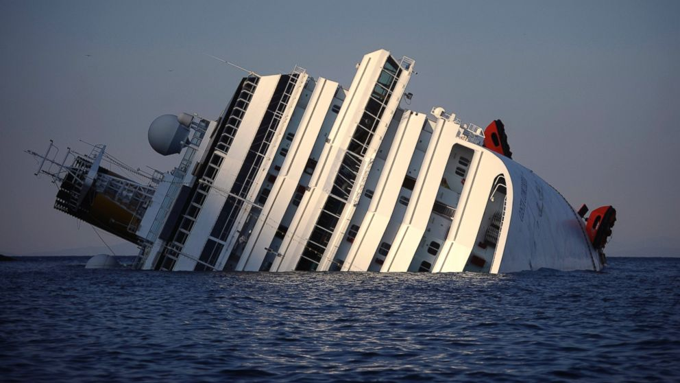Costa Concordia Videos At ABC News Video Archive At Abcnewscom - Cruise ship turns over