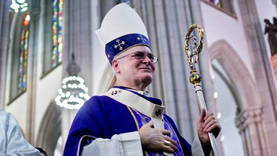 PHOTO: The Cardinal Archbishop of Sao Paulo, Dom Odilo Pedro Scherer attends Catedral da Se, Feb. 13, 2013, in Sao Paulo, Brazil.