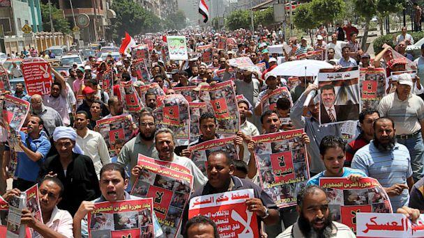 gty egypt pro morsi kb 130712 16x9 608 Egypts Islamists Stage Million Man March