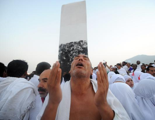 Hajjis Descend on Mecca