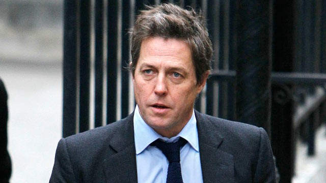 PHOTO: British actor Hugh Grant arrives to give evidence at the the Leveson ...