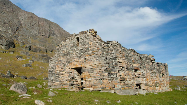 PHOTO: Ruins of Hvalsey Chur