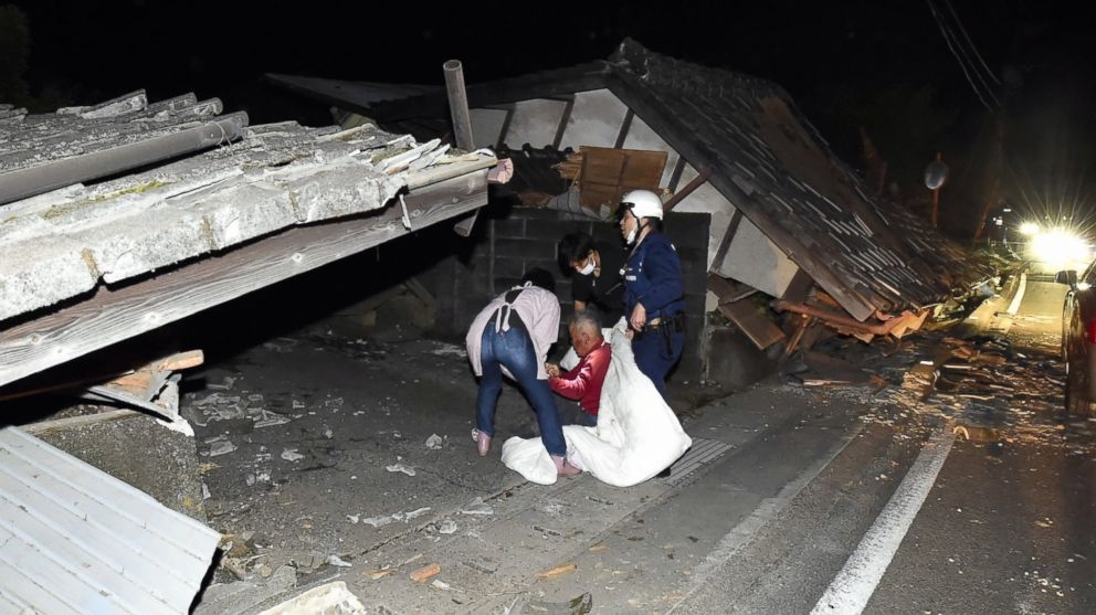 At Least 9 Dead, More Than 800 Injured in Japan 6.5-Magnitude ...