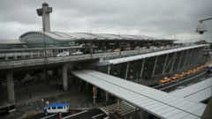 PHOTO: The international arrivals terminal is viewed at New Yorks John F. Kennedy Airport on Oct. 11, 2014 in New York City.