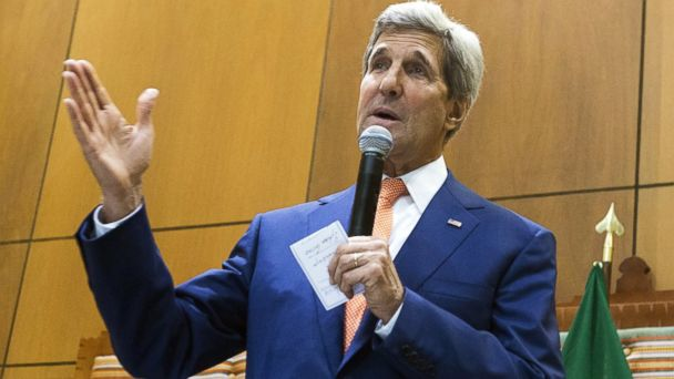 gty john kerry addis ababa jc 140509 16x9 608 State Department Explains Kerry Remarks That Angered Christian Activists