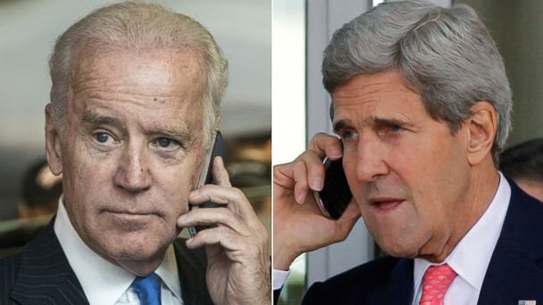 gty john kerry joe biden phone jc 140702 16x9 608 Biden, Kerry Work the Phones to Unite Iraqi Politicians