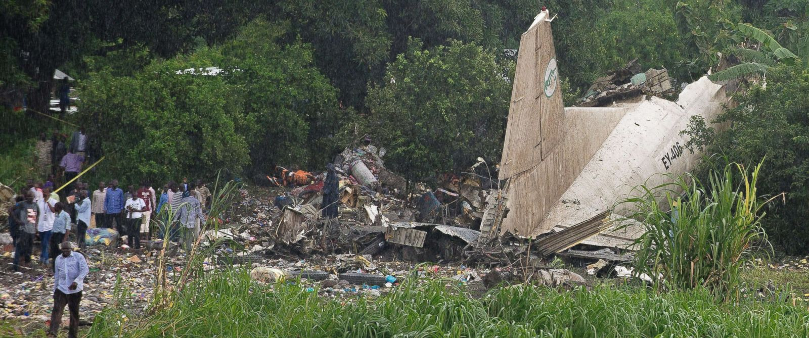 Cargo Plane crashes after taking off from Juba International Airport