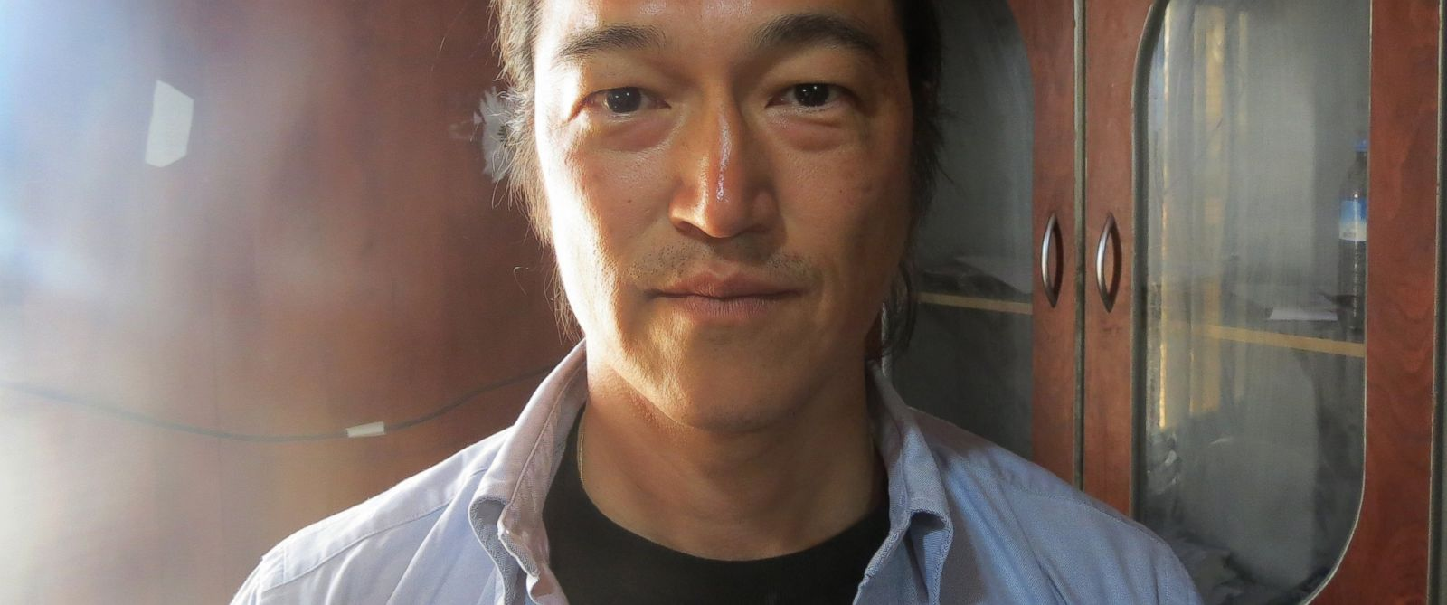 PHOTO: Japanese journalist Kenji Goto is seen in this file photo dated April 25, 2014.