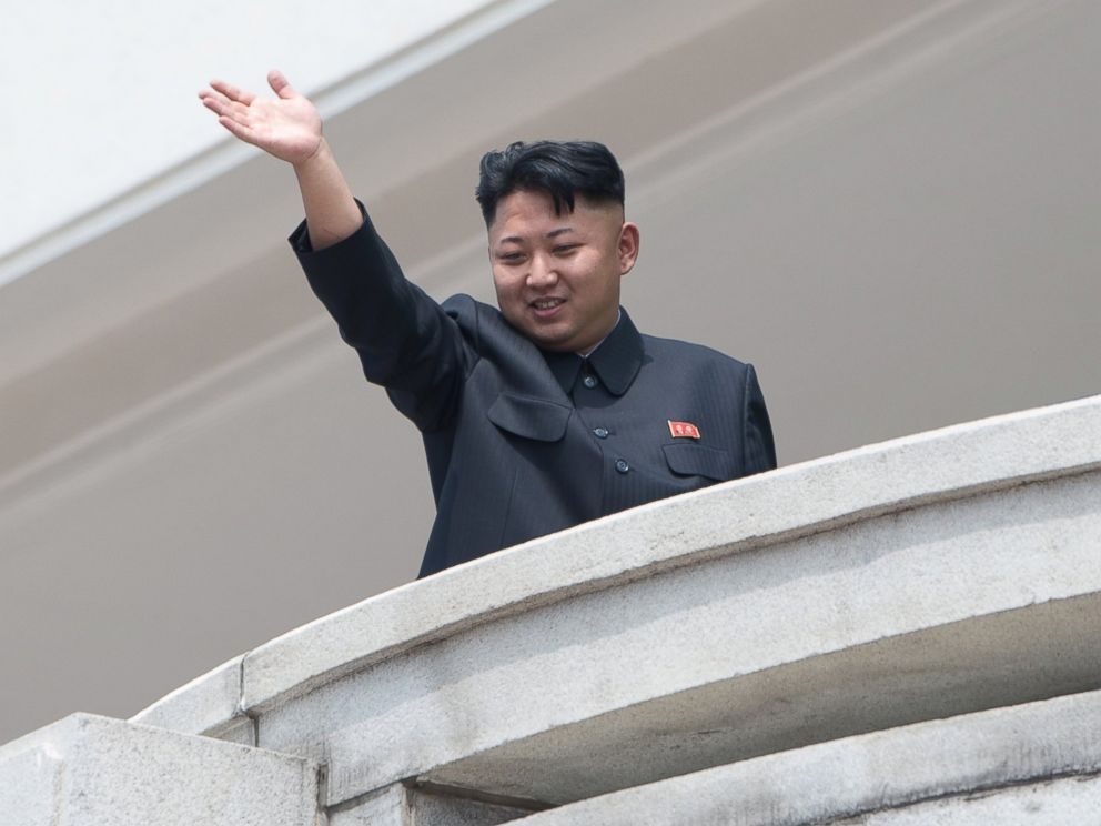 PHOTO: North Korean leader Kim Jong-Un is seen in this July 27, 2013 file photo as he waves to the crowd during a military parade at Kim Il-Sung square marking the 60th anniversary of the Korean war armistice in Pyongyang.