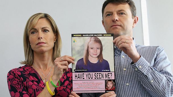 gty madeleine kate gerry mccann ll 130704 16x9 608 Police Scour Phone Records for Clues in Madeleine McCann Case