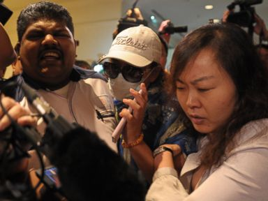 Tensions Spill Over as Families of Missing Passengers Demand Answers