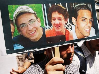 Israeli PM Calls Killers of 3 Israeli Teens 'Human Animals'