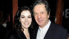 PHOTO: Nigella Lawson (L) and Charles Saatchi attend a dinner hosted by Joseph Group CEO Sara Ferrero and Vogue UK editor-at-large Fiona Golfar at Joe's Restaurant on January 19, 2012 in London.
