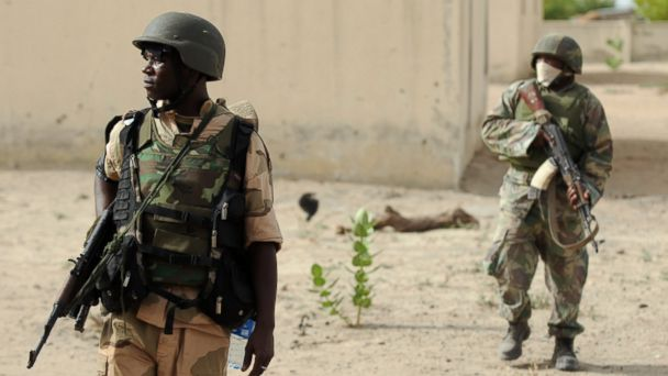 gty nigerian army kb 140514 16x9 608 Nigerian Military Human Rights Abuses Wont Stop American Search Assistance, Official Says