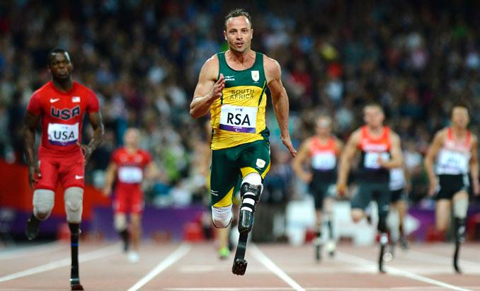Paralympic Champion Charged With Murder