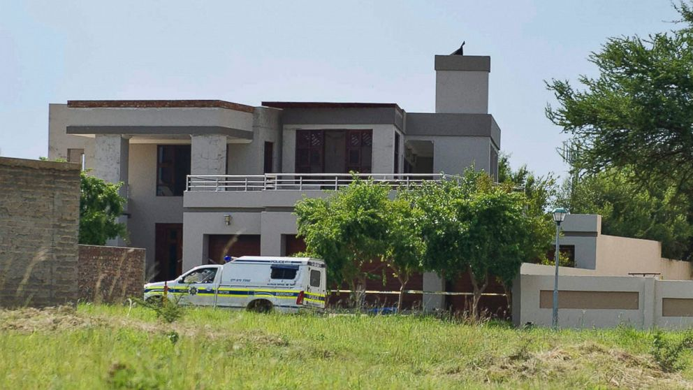 PHOTO: Oscar Pistoriuss house at SilverWoods Country Estate on Feb. 14, 2013 in Pretoria, South Africa.
