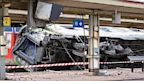 PHOTO: A picture shows a derailed wagon on the site of a train accident in the railway station of Bretigny-sur-Orge on July 12, 2013 near Paris. A train derailed in the Paris suburb of Bretigny-sur-Orge in an accident that caused many casualties, author