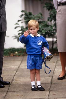 Prince Harry: Through The Years