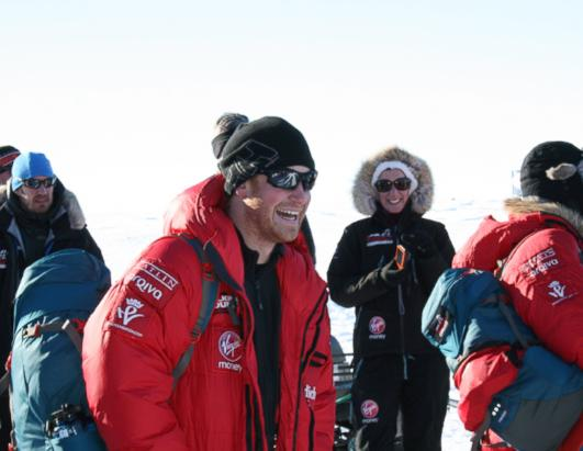 Prince Harry on Antarctic Trek